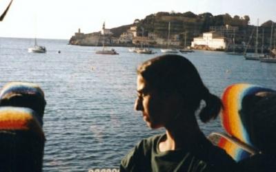 Helena Jubany, en l'excursió a Mallorca de la UES a l'abril del 2001 | Cedida