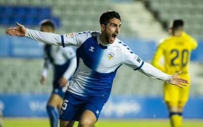 Tres gols ha anotat el balear aquesta temporada amb el conjunt sabadellenc | Marc González Alomà - CES