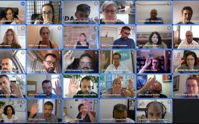 La proposta s'ha aprovat per la mínima, amb els 14 regidors de PSC, Podem i Junts | Youtube