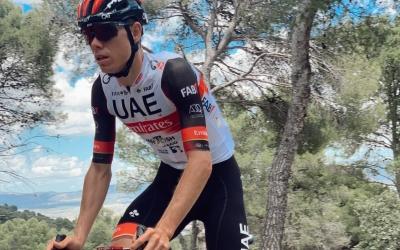 De la Cruz aquesta setmana a Alacant inspeccionant una de les etapes de la Vuelta | Twitter