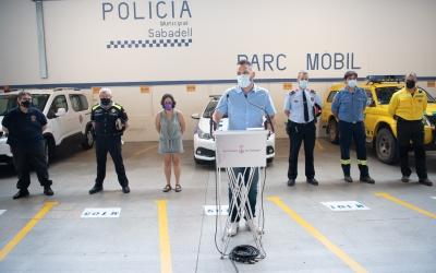 La Policia Municipal dobla els efectius per la Revetlla i es coordina amb la resta de cossos d'emergències | Roger Benet