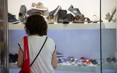 Un comerç de Sabadell/ Roger Benet
