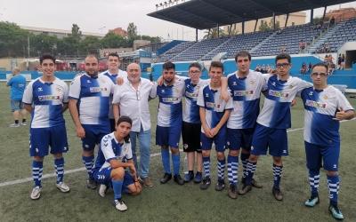Imatge de l'equip arlequinat a Santa Coloma | CES