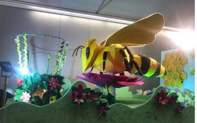 L'abella que es cremarà per la revetlla al Torrent del Capellà/ Cedida Associació de Veïns