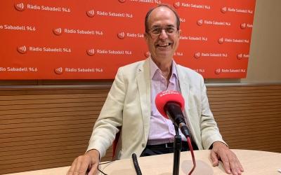 Josep Suàrez, a Ràdio Sabadell | Arxiu
