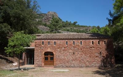 Façana de La Pahissa | Judit Contreras, Diputació de Barcelona