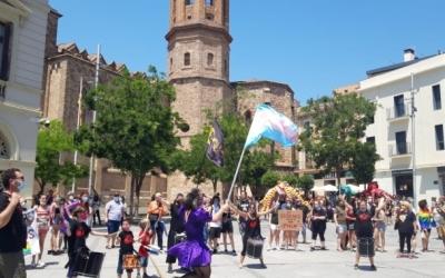 Clara Palau al centre de la batucada de les Forques de Can Deu el passat 28 de juny   Núria García