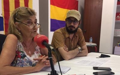 Tere Ibáñez en la roda de premsa d'aquest migdia | Ràdio Sabadell