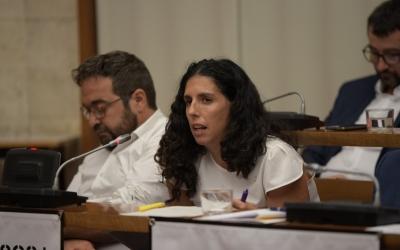La portaveu adjunta d'ERC, Èlia Soriano-Costa | Roger Benet