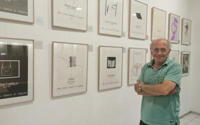 L'exposició a la botiga Fidel Roca   Cedida