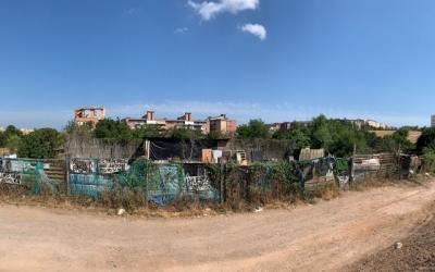 Imatge de part dels terrenys ocupats a Cifuentes | Cedida