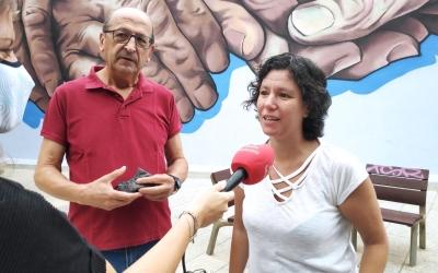 Antonio Ontiveros, portaveu de Podem Sabadell, i Marta Morell, portaveu municipal | Podem Sabadell