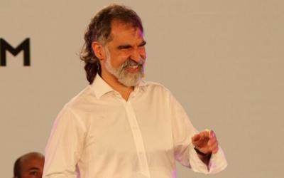 Jordi Cuixart en un acte d'Òmnium Cultural, el 12 de maig del 2021 | ACN