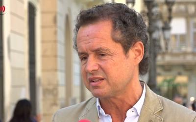 Lluís Matas en una entrevista amb Ràdio Sabadell | Roger Benet