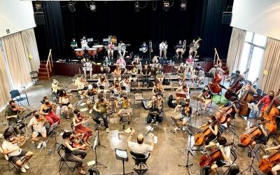 Imatge dels assajos dels pròxims concerts  | Orquestra Simfònica Segle XXI