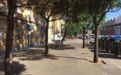 Tram del carrer Goya on s'actuarà   Aleix Graell