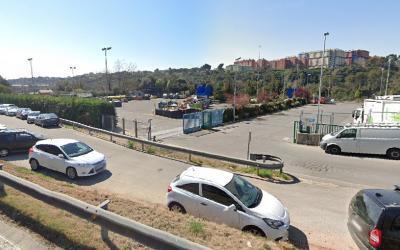 L'antic Punt Blau a la carretera de Castellar | Google Maps