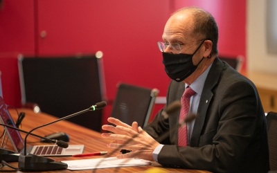 Ramon Alberich, president de la Cambra de Comerç | Roger Benet