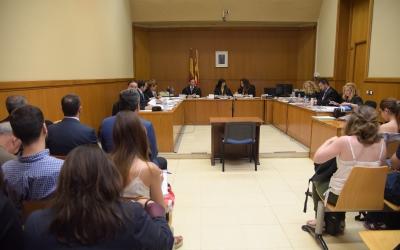 Manuel Bustos, en un judici al TSJC | Roger Benet