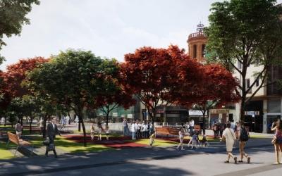 Un dels projectes que ha tirat endavant és el de la remodelació del Passeig | Cedida