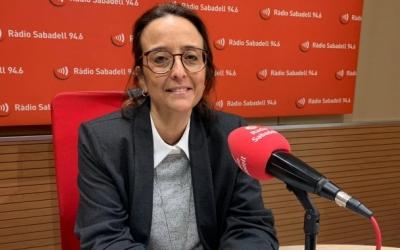 Alícia Bosch en una entrevista a Ràdio Sabadell | Arxiu