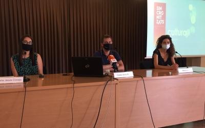 MAria Jesús Conejo, Carles de la Rosa i Mireia Llunell en la roda de premsa d'avui | Ràdio Sabadell