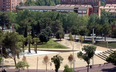 Imatge d'una de les zones urbanitzades del Parc del Nord | Cedida