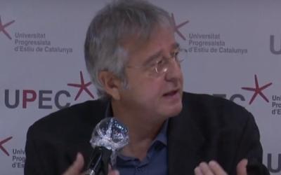 Jordi Serrano durant la inaguració de la UPEC | Arxiu