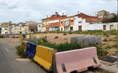 Imatge de la coberta del soterrament de l'estació Can Feu-Gràcia | Arxiu