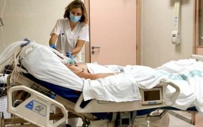 Imatge d'un pacient ingressat al Frontal Gran Via del Taulí | Cedida