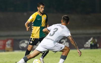 Samu Araújo es va enfrontar al playoff d'ascens contra el Sabadell | Cedida