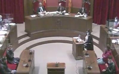 Imatge del judici de la 'manada' de Sabadell | Arxiu