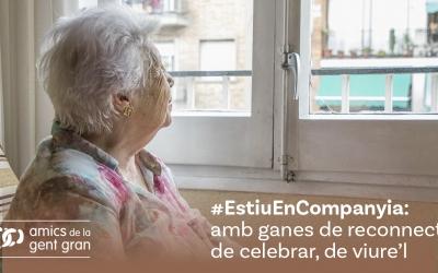 Imatge de la campanya #EstiuEnCompanyia | Cedida