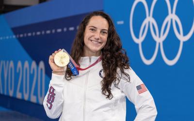 Steffens, amb la seva tercera medalla d'or | CN Sabadell