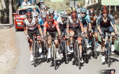 De la Cruz s'ha mostrat durant tota La Vuelta entre els millors | Bettini Photo - UAE Team