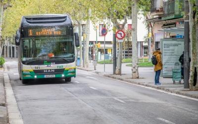 Un autobús de la TUS, en una imatge d'arxiu/ Roger Benet