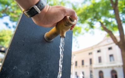 Una font d'aigua potable de la ciutat/ Roger Benet
