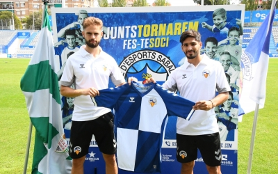 Guillem Molina i Facu García han parlat per primer cop com nous futbolistes arlequinats | CES