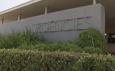 Exterior de les Urgències de l'Hospital de Terrassa/ Televisió de Terrassa