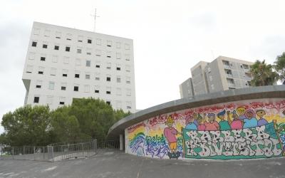 Exterior del bloc de Ronda Santa Maria, 213/ Roger Benet
