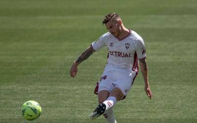 Caballo ha jugat les dues últimes temporades amb l'Albacete | Twitter