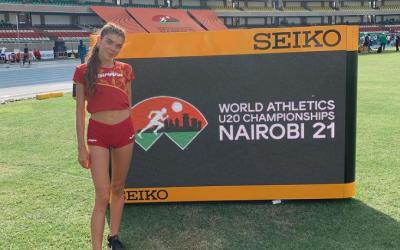 Carla Domínguez es prepara a Kenya des de fa uns dies | Instagram