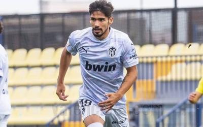 Facu, la temporada passada amb el Mestalla | VCF