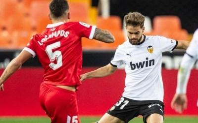 Guillem Molina ha jugat les últimes temporades amb el filial del Valencia | Cedida