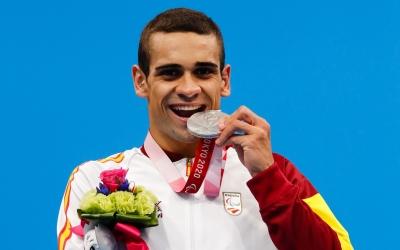 Óscar Salguero ha obtingut la segona medalla paralímpica de la seva carrera | Cedida