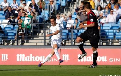 Sergio Aguza desplaça en llarg en un Castilla-Sabadell de 2014 | Real Madrid