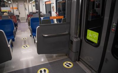 Imatge de l'interior d'un tren de FGC | Roger Benet