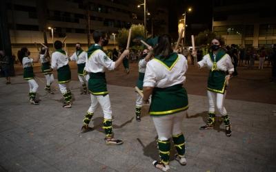 Un moment del Seguici Festiu de Sabadell aquesta Festa Major | Roger Benet
