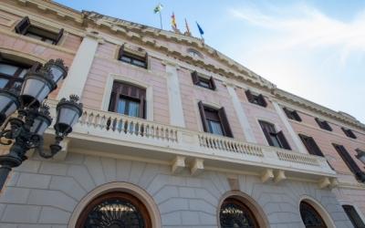 Façana de l'Ajuntament de Sabadell | Arxiu