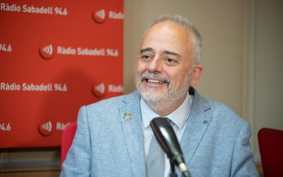 El rector de la UAB en una entrevista a Ràdio Sabadell | Roger Benet